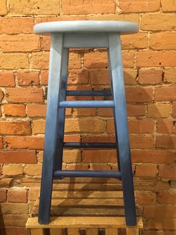 Cool Tues Feb 12 13 Ombre Technique Stool Inzonedesignstudio Interior Chair Design Inzonedesignstudiocom